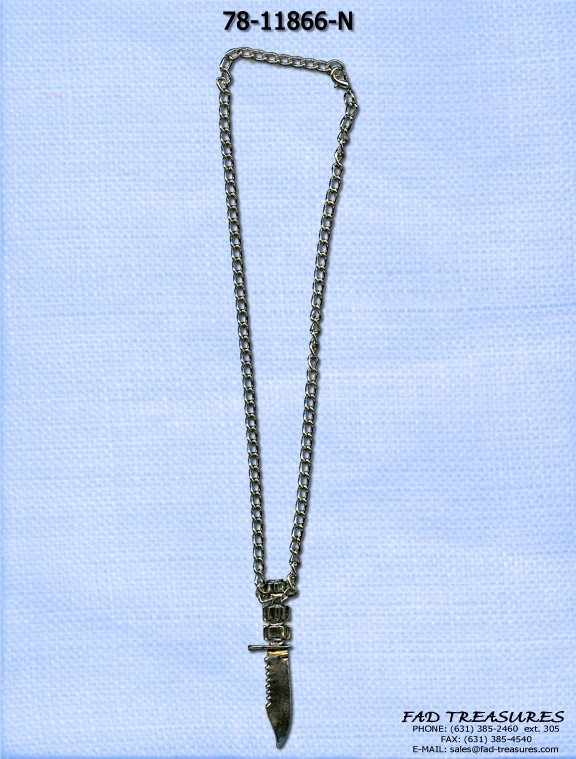78-11866-NARMY KNIFE NECKLACE