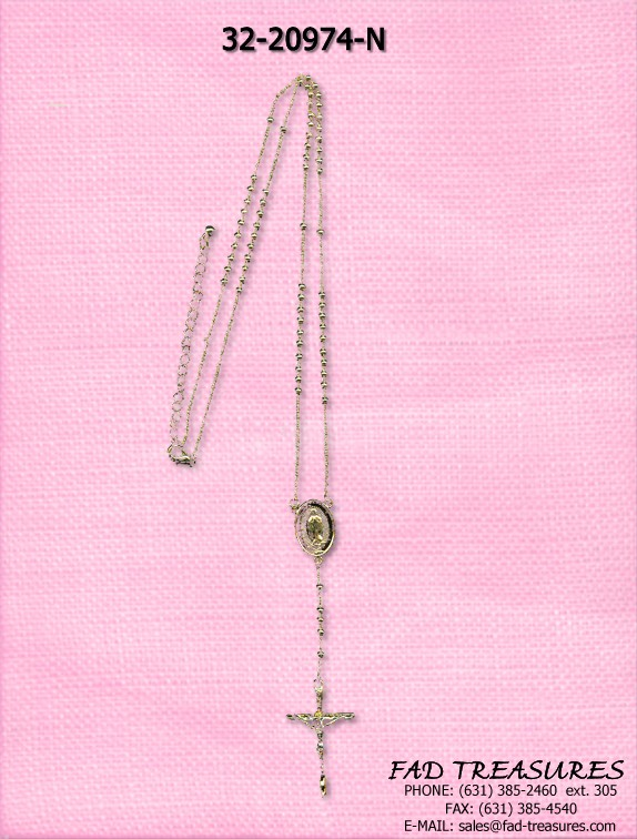 ROSARY WITH BEADS AND CRUCIFIX