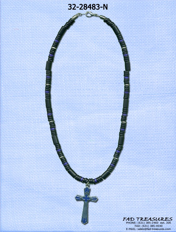 Industrial Artistic Cross Necklace