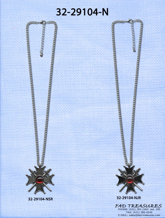 Dracula Medallion Necklace