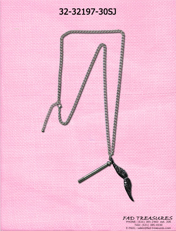 Funky Mustache Stickmeez Necklace
