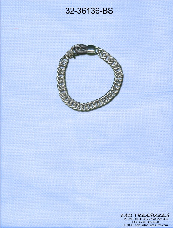 Tight Curb Chain Bracelet