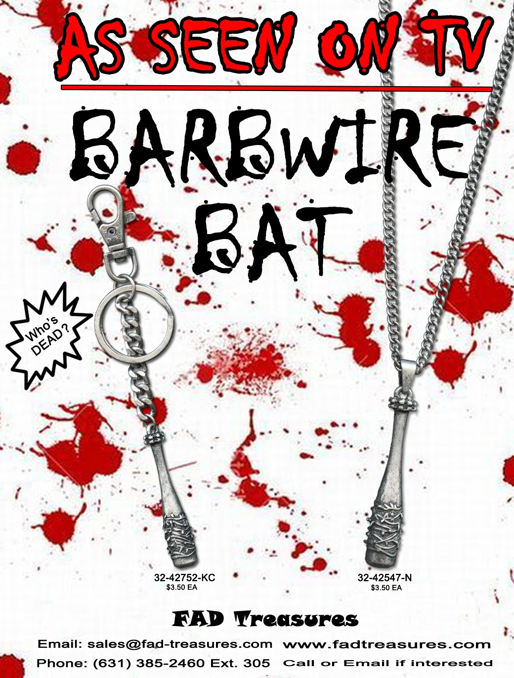 BARBWIRE BAT