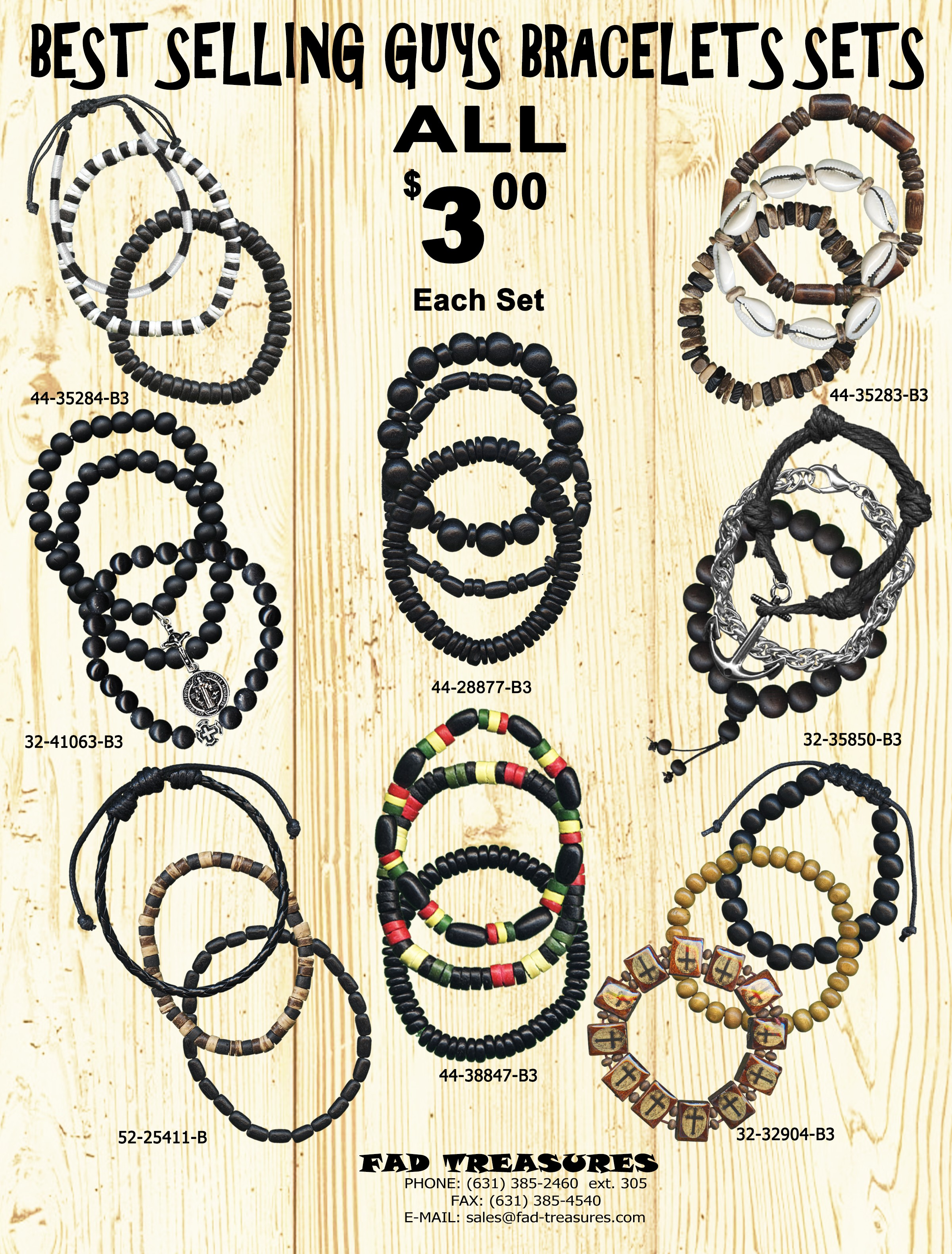 Best Selling Guys Bracelets