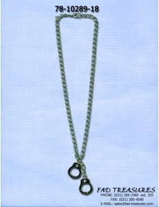 Double Handcuff Chain Necklace