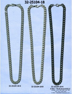 Cut Curb Assorted Necklace
