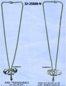 Assorted Charms Chain Necklace