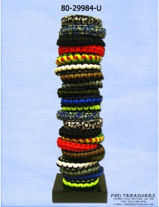 Assorted Paracord Bracelet Unit