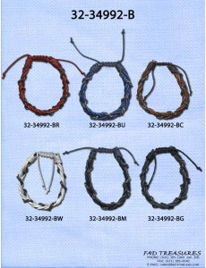 Braided Intertwined Chain Bracelet