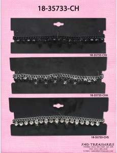 Spike & Stones Chain Choker Necklace