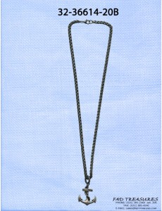 Anchor On Rope Chain