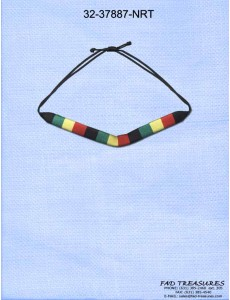 Rasta Thread & Cord Necklace
