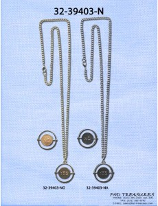 Assorted Chain With Spin Dial Yes And No Charm Necklace