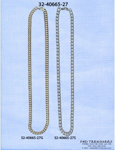 Assorted Platings Chain Necklace