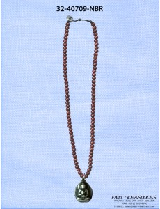 Beaded With Praying Budda Necklace
