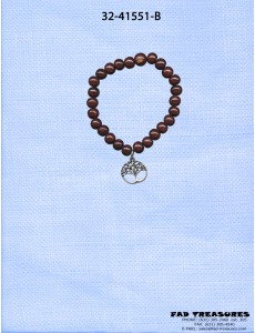 Zen Tree Of Life Bead Bracelet