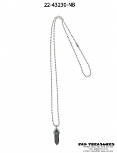 Ballchain & Crystal Necklace