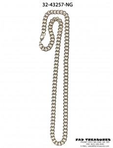 Thick Gold Curb Chain Necklace